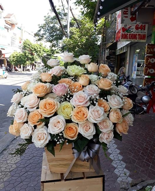 lang hoa cuoi 2 tang 3 tang