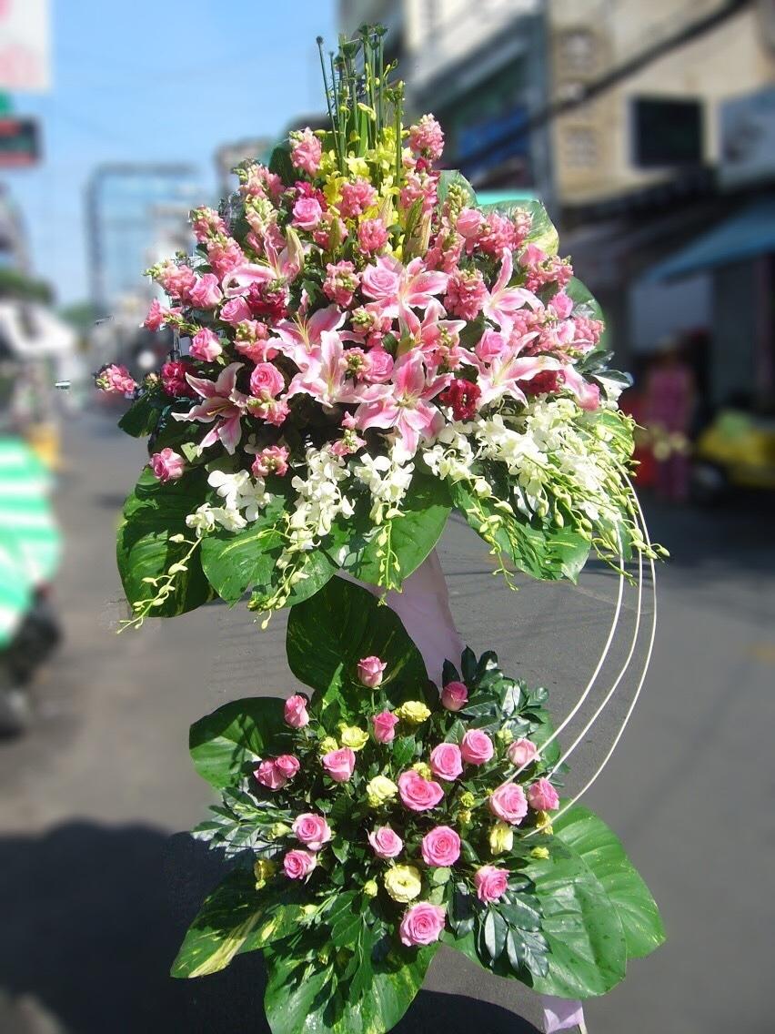Kết quả hình ảnh cho lẵng hoa đẹp