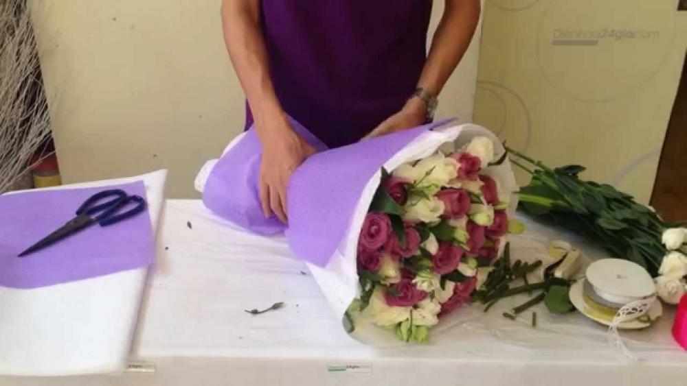 huong dan cach bo hoa dep 20 11 tang tri an thay co