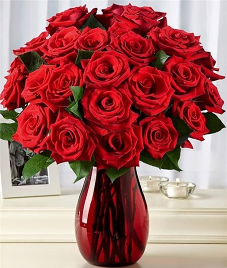 Bình hoa hồng đẹp - Bộ sưu tập 150 hình ảnh đẹp về bình hoa hồng