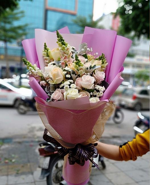 nhung cua hang hoa tuoi ha giang hut khach nuom nuop