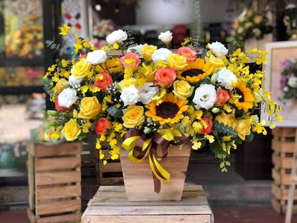 top 10 shop ban hoa dep nghe an