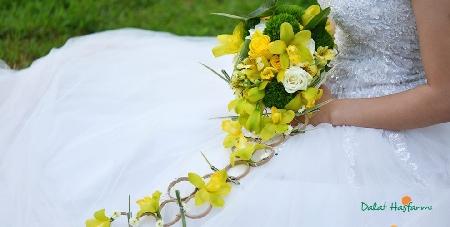 cach bo hoa co dau dep va long lay trong ngay cuoi