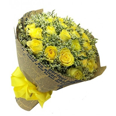 hoa hong golden lap lanh anh vang  HOA HỒNG GOLDEN LẤP LÁNH ÁNH VÀNG hoa tinh yeu hty018