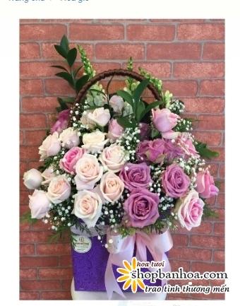 lang hoa cuoi 3 tang sang trong an tuong